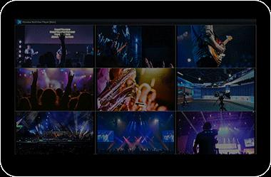 MultiView-NDI多画面播放器