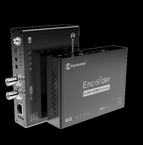 HDMI/SDI to NDI Wired Encoder - product - Kiloview E1 E2 NDI
