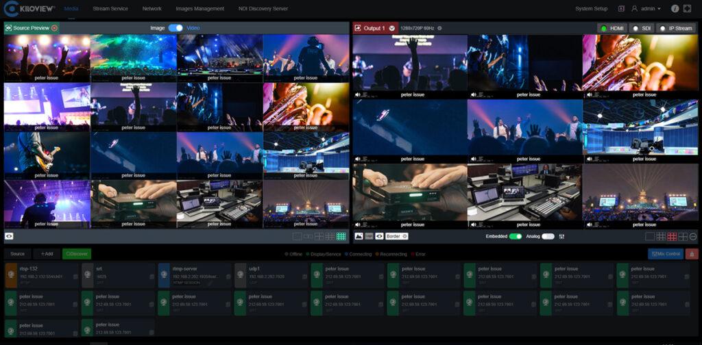 ip-camera-live-streaming-kiloview-hardware-media-gateway-console-interface