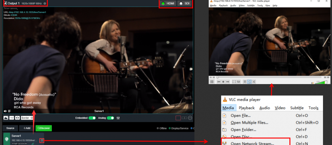 Decoding-and-multi-user-streaming